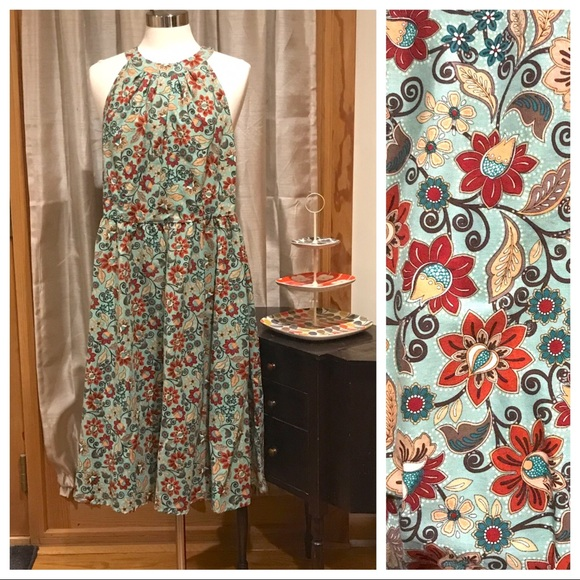 Retrolicious Dresses & Skirts - Retrolicious Floral Sundress 2X